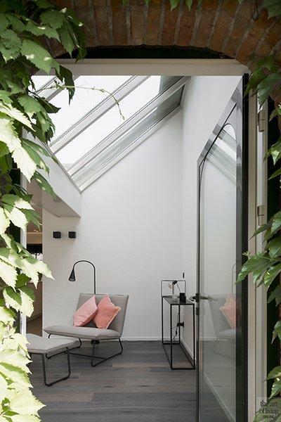 QTD, Interieur, Zithoek, Dakramen, Lounge, Doorkijkje, Spiegel