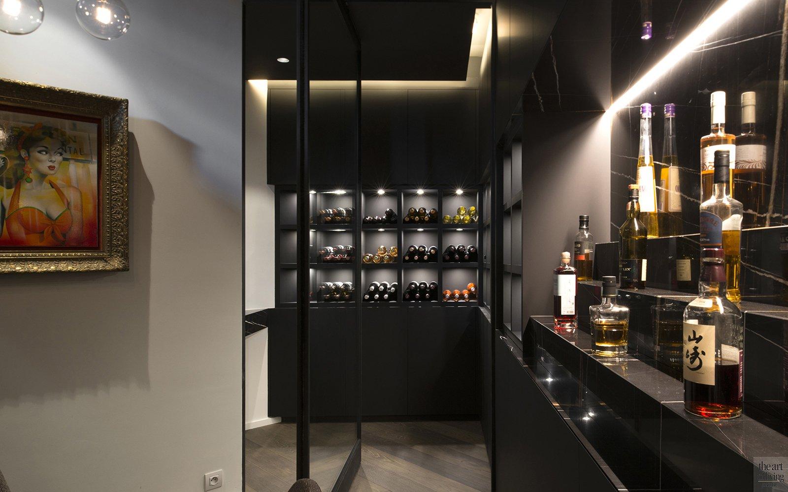 QTD, Interieur, wijnkelder, transformatie