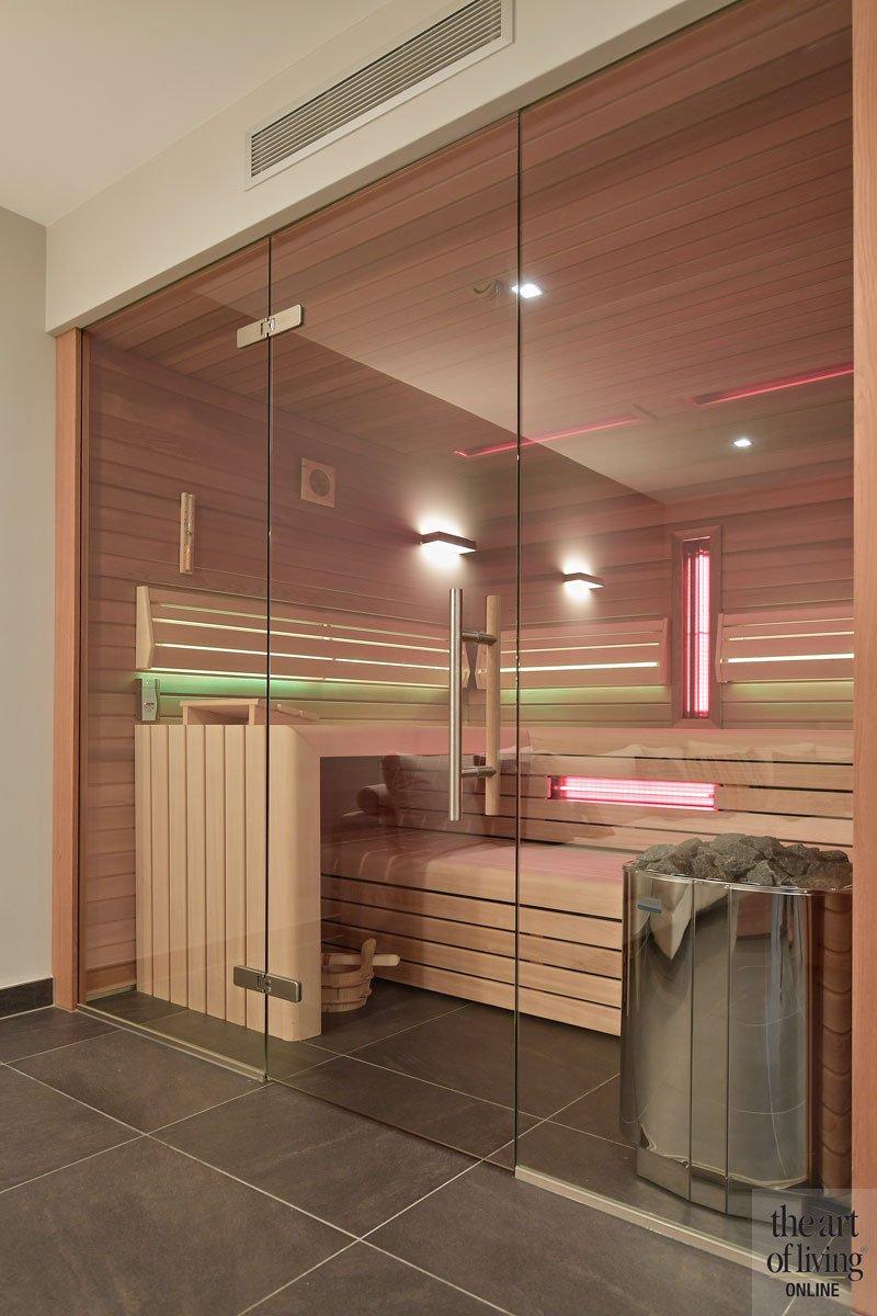 Wellness ruimte, sauna, Cleopatra