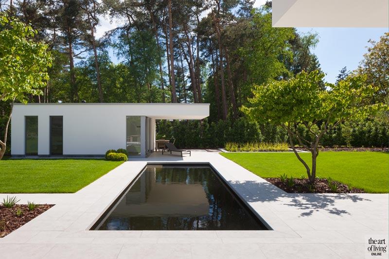 Zelfvoorzienende villa, Architectenburo Anja Vissers, the art of living, moderne villa, modern design, exclusief, modern ontwerp, villa
