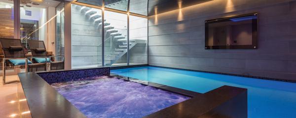 Exclusieve Mansion Wellness in Londen | , binnenzwembad, jacuzzi, Alpha Wellness Sensations