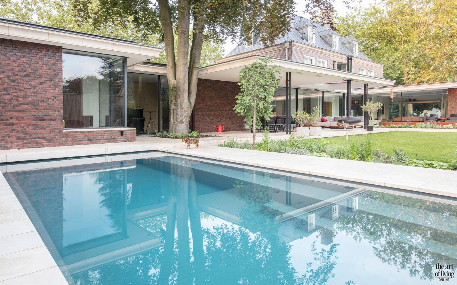Eigentijds, Bever architecten, the art of living, zwembaden, pools, pool, buitenzwembad, zwembad, exclusieve zwembaden