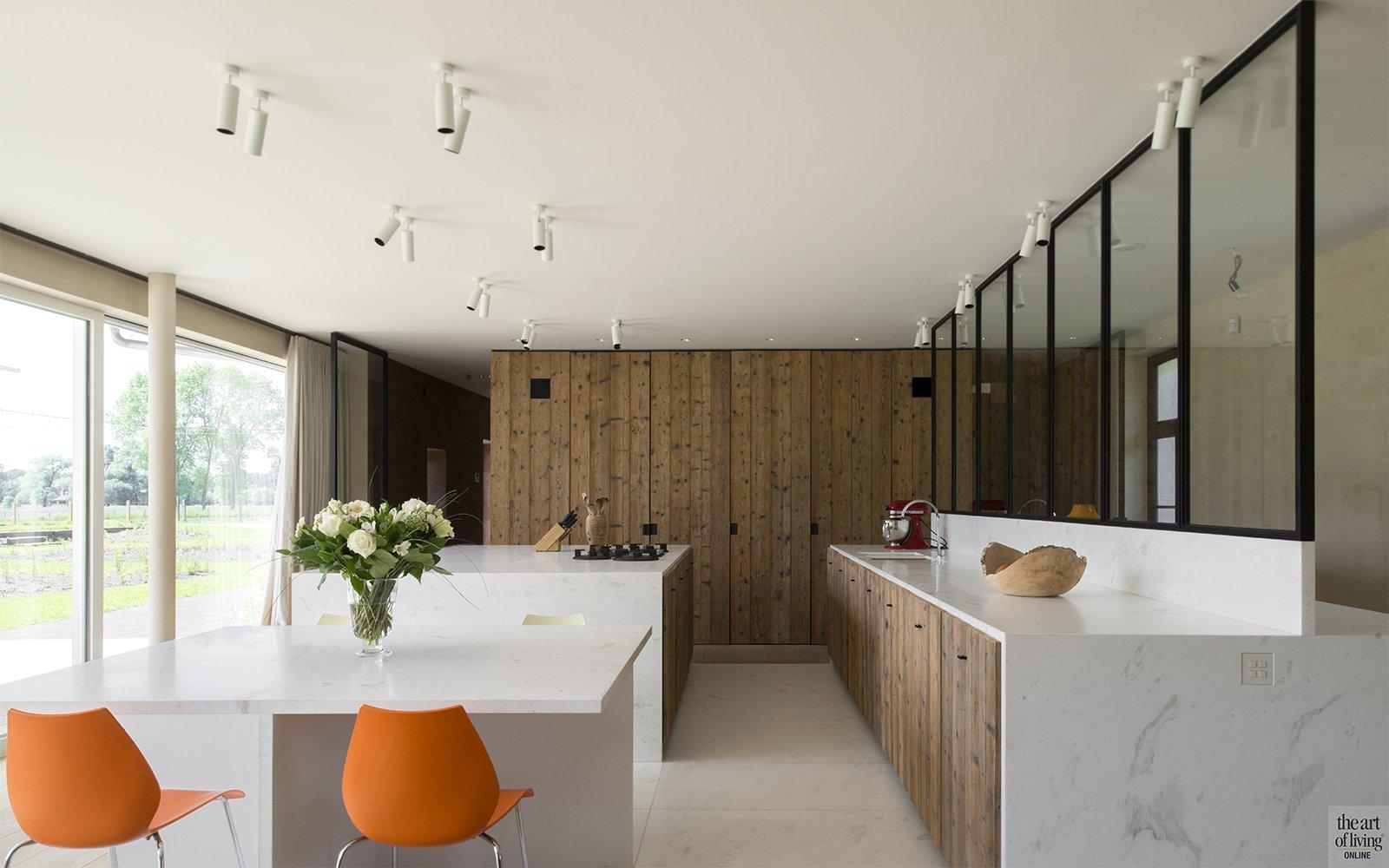 Landelijk moderne keuken glenn reynaert the art of living be