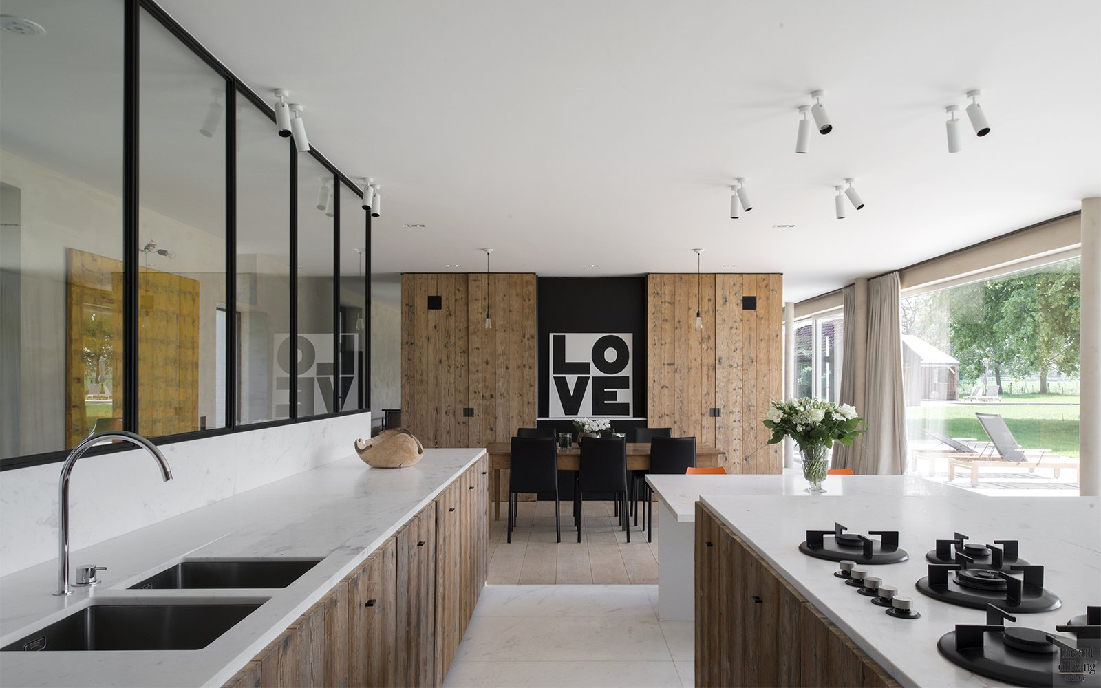 Landelijk Moderne Keukens : Landelijk moderne keuken glenn reynaert the art of living be