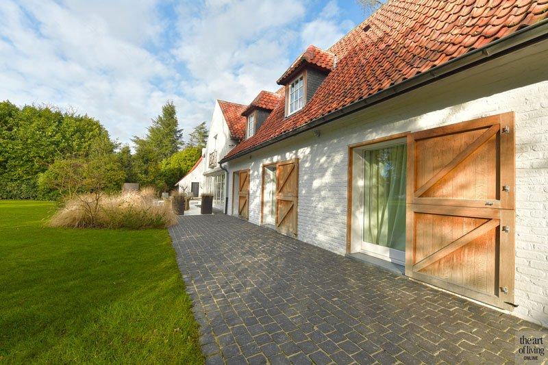 Villabouw in landelijke stijl, Landelijk strak, Jurgen Weyne, the art of living, landelijke villa, landelijk, landelijk ontwerp, landelijk architectuur, landelijk huis, exclusief ontwerp