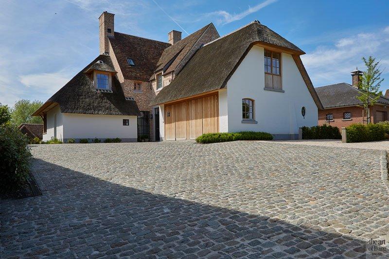 Modern Landelijk Huis : Landelijke villa met modern interieur binnenkijken