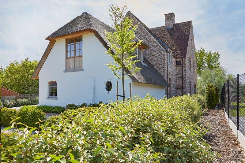 Villabouw in landelijke stijl, Landelijk woning, Bart Francois, the art of living, landelijke villa, landelijk, landelijk ontwerp, landelijk architectuur, landelijk huis, exclusief ontwerp