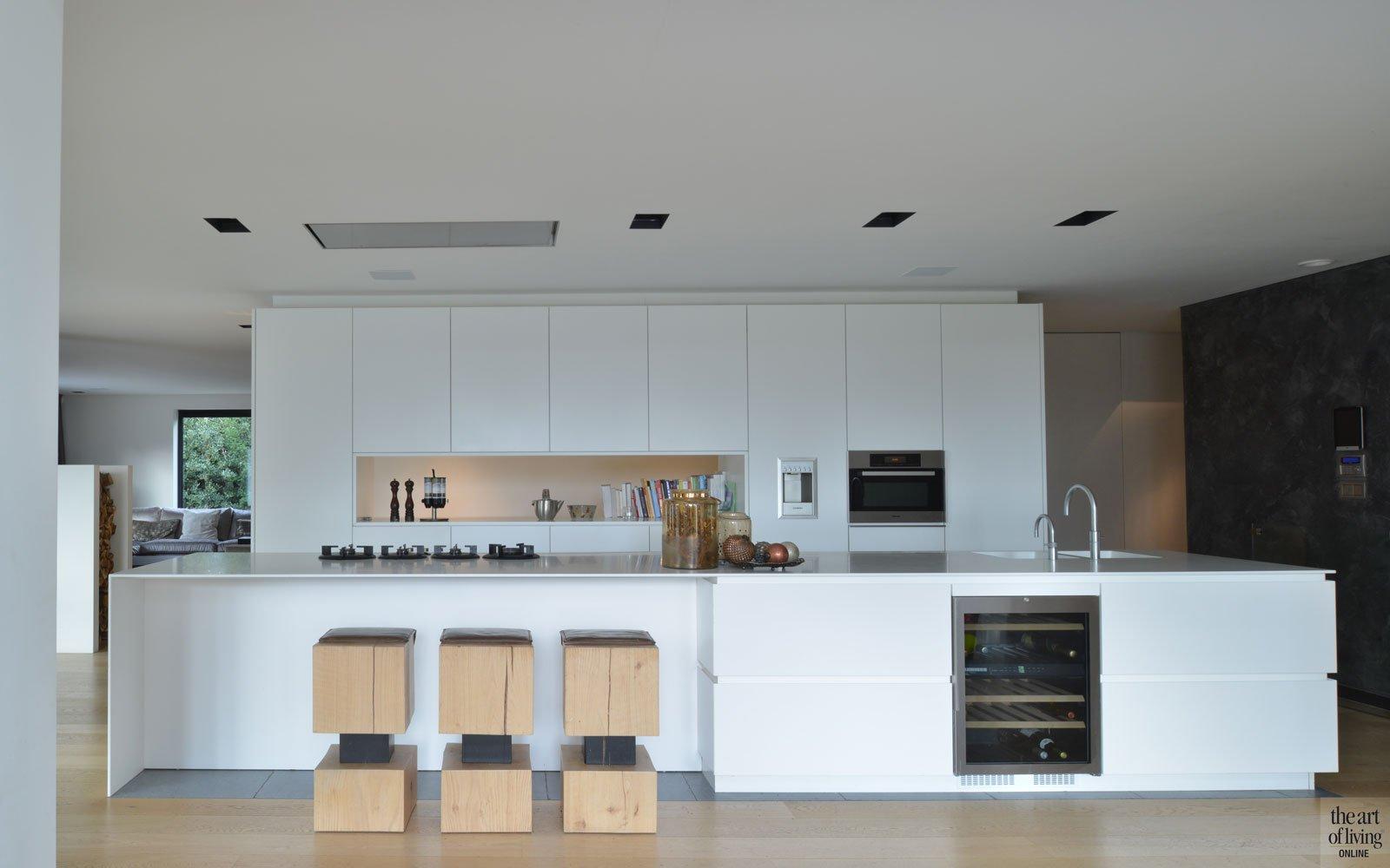 Moderne villa, VVR Architecten, the art of living, keuken, kitchen, keukens, design keuken, design, luxueuze keuken, woonkeuken, exclusief