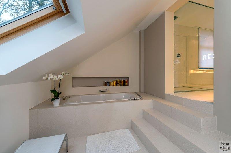 Strak luxueus QTD, QTD, the art of living, bad, sauna, wellness at home, wellness, design, luxueuze badkamer, badkamer