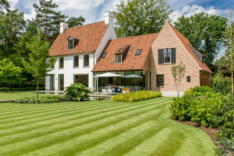 Villa, Supermoderne villa, Pieter Vlassak, the art of living, top 5 klassieke villa's
