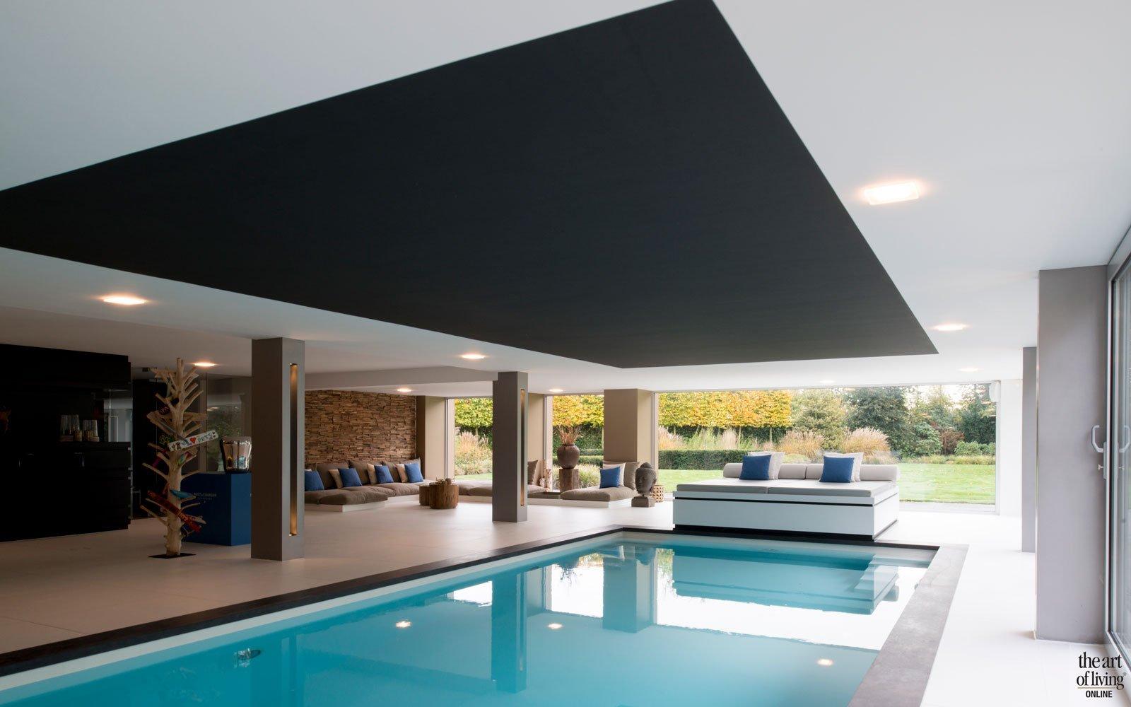 Verbouwing moderne villa, VVR Architecten, the art of living, zwembade, zwembad, pool, swimming pool, design, exclusief zwermbad, exclusieve zwembaden