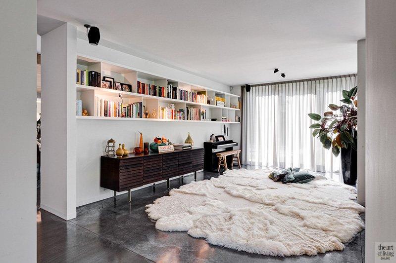 Modern Interieur Woonkamer : Modern maar warm interieur arjaan de feyter the art of living be