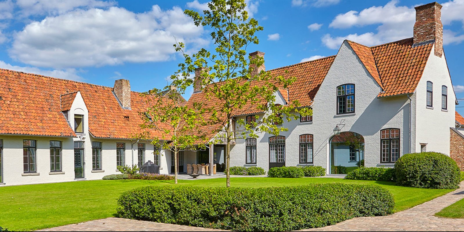 top 5 klassieke villa's, the art of living, Bernard de Clerck