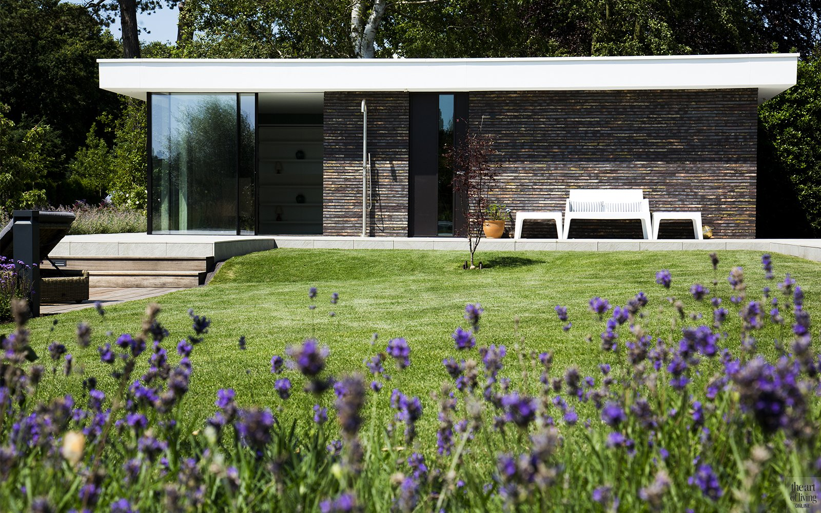 Van Egmond totaalarchitectuur, the art of living, luxe villa met thuis wellness