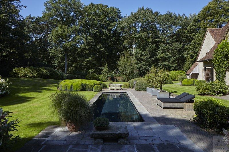Zwembad tuin, the art of living, de appelboom