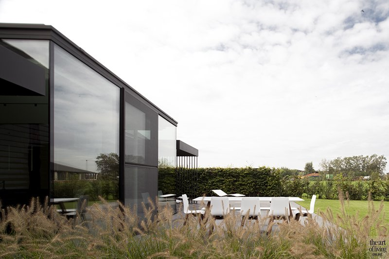 minimalistische tuin, architect in motion, the art of living