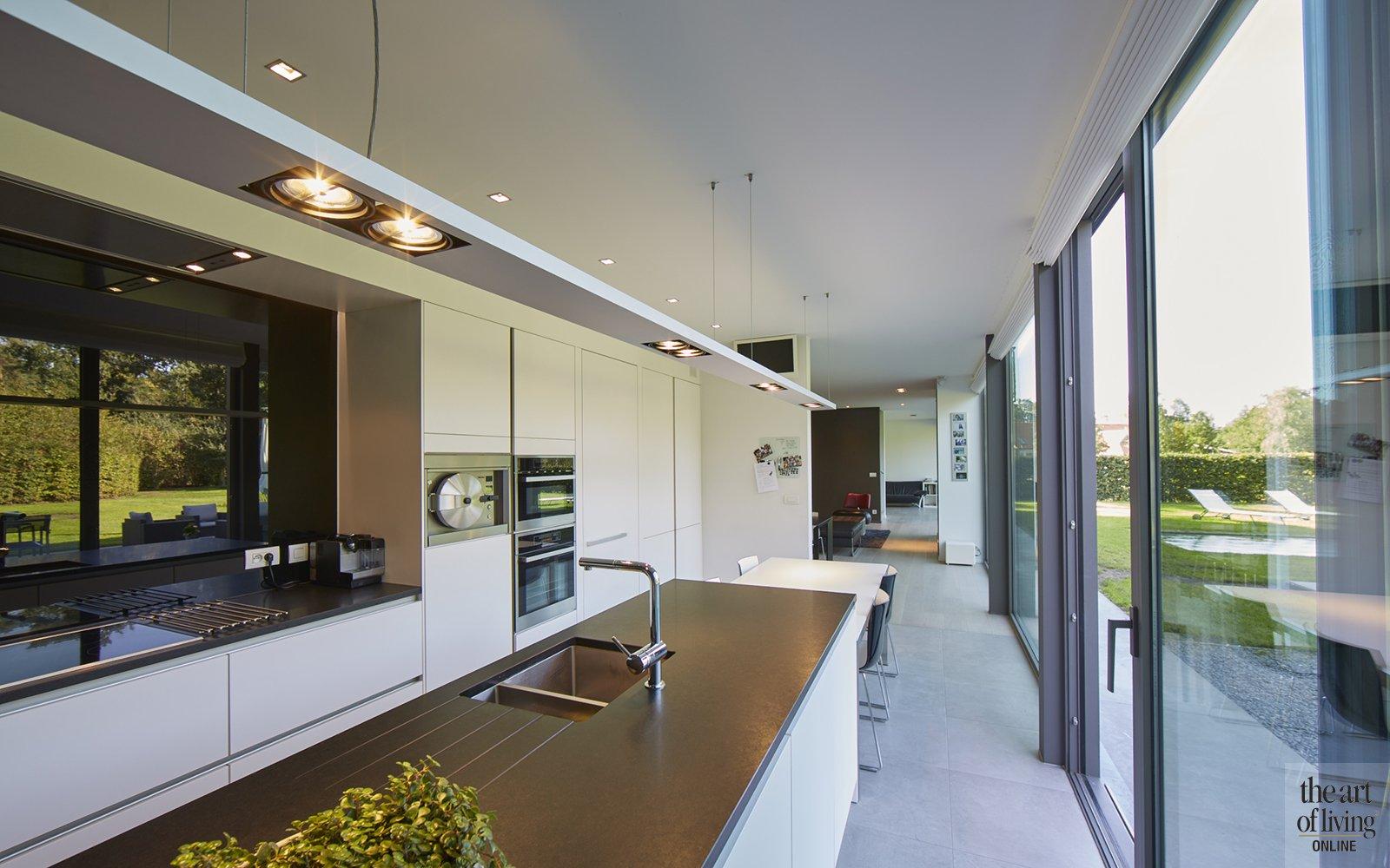 Nieuwbouwwoning, Schellen Architecten, Exterieur, Voorzijde, Privacy, Moderne woning, Tijdloze woning