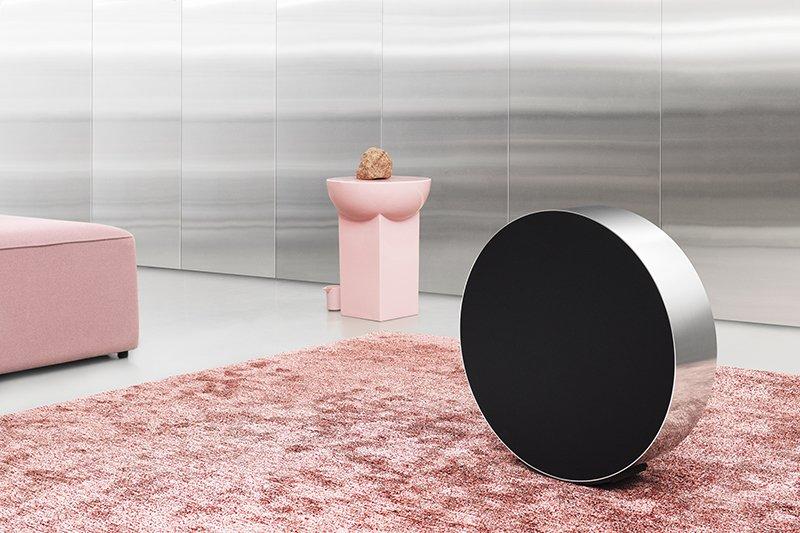 Speaker Beosound Edge, Bang & Olufsen, speakers, exclusieve speakers, luxe geluidsinstallatie, the art of living, domotica