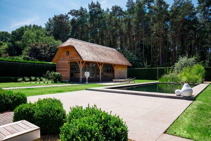 Thuiskantoor Uitbouw Tuin : T landhuys the art of living be