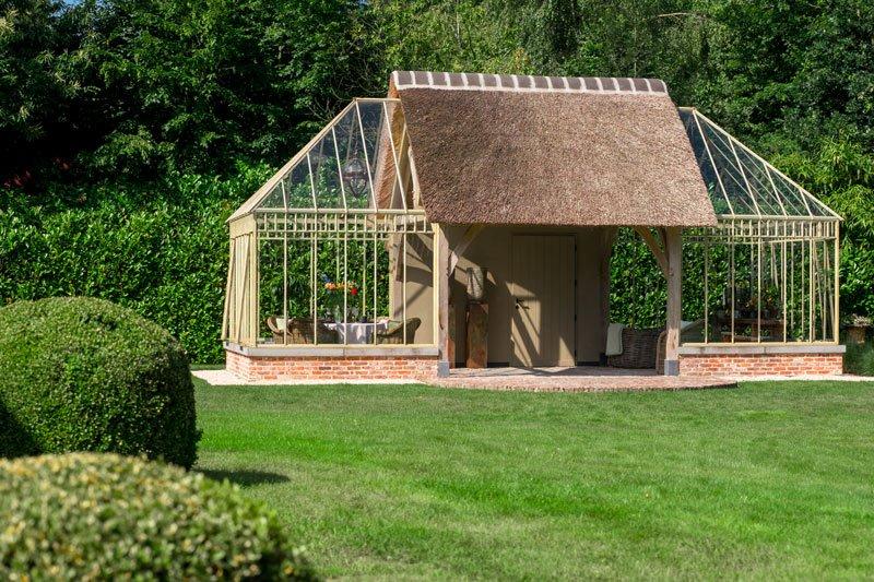 Orangerie, 't Landhuys, buitenhuis, bijgebouw
