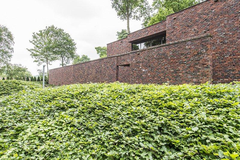 Parktuin, BVV Architecten, Tuin, Organische vormen, Strakke lijnen, Buitenkamer, Tuinkamer, Beplanting, Vijver