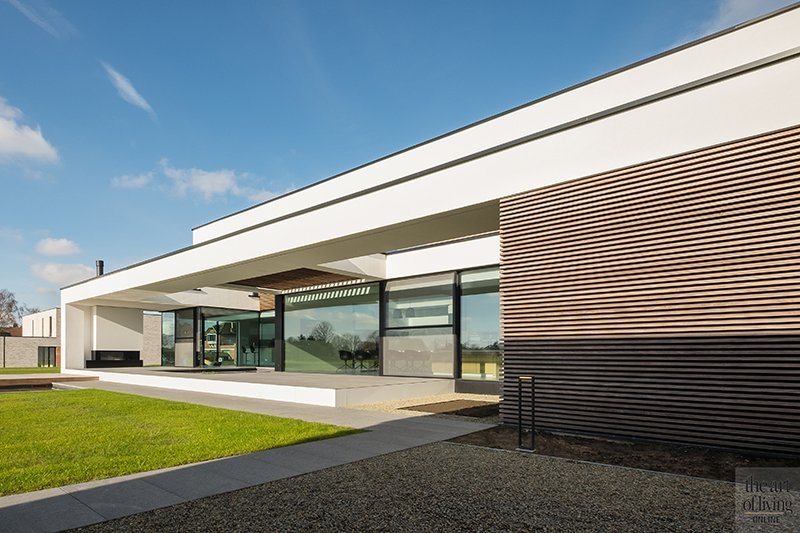 Moderne luxe villa, block office architecten, the art of living.