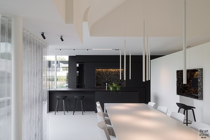 Sfeervolle keuken achterwand architects in motion the art of