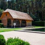 Poolhouse, poolhouse van hout, 't landhuys, bijgebouw, houten bijgebouw