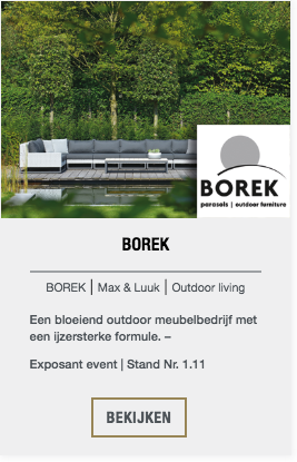 Borek event exposant | The Art of Living Event