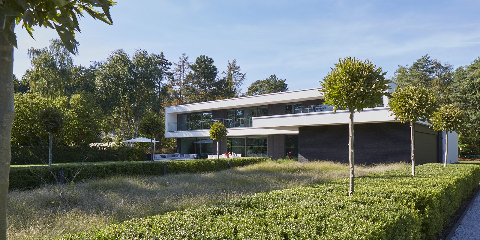 Moderne stakke woning, Schellen Architecten, the art of living, strak, modern
