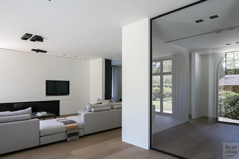 zwart wit interieur, the art of living, Dennis T'Jampens