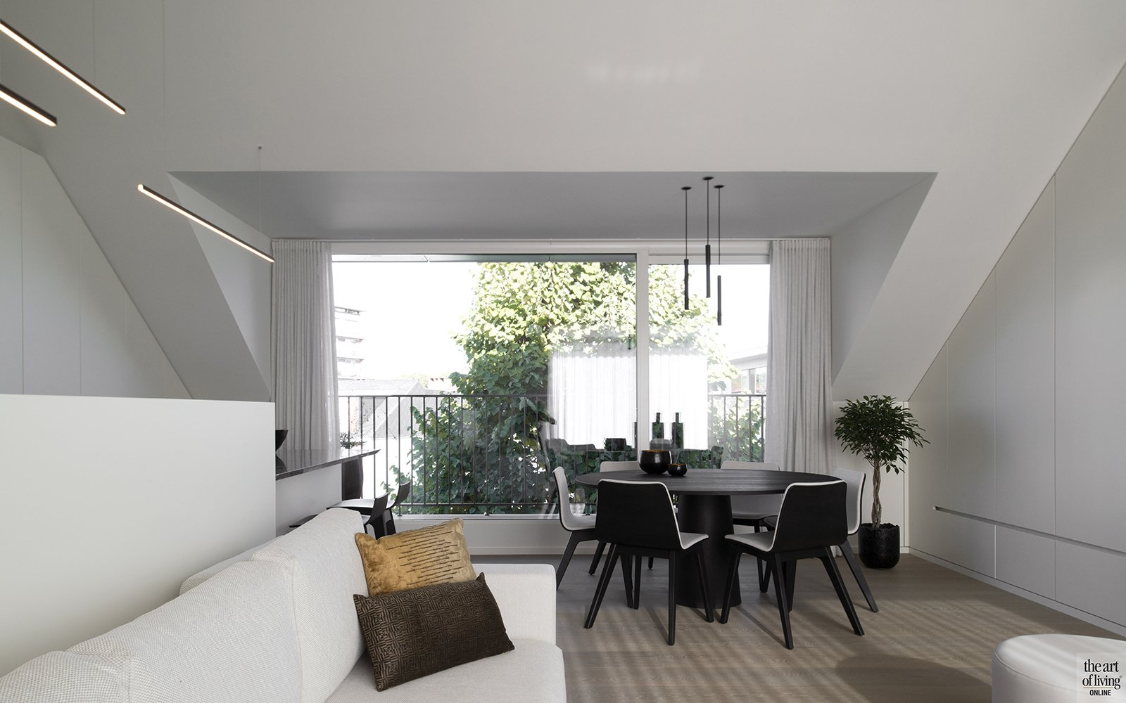 QTD, woonkamer, exclusief, modern, the art of living