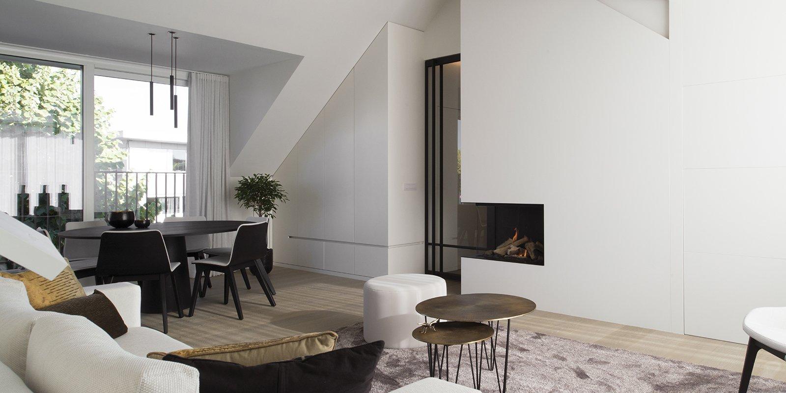 QTD, haard, woonkamer, exclusief, modern, the art of living