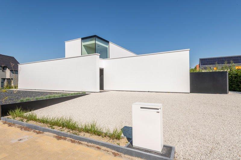 De Jaeghere Architectuuratelier, moderne woning