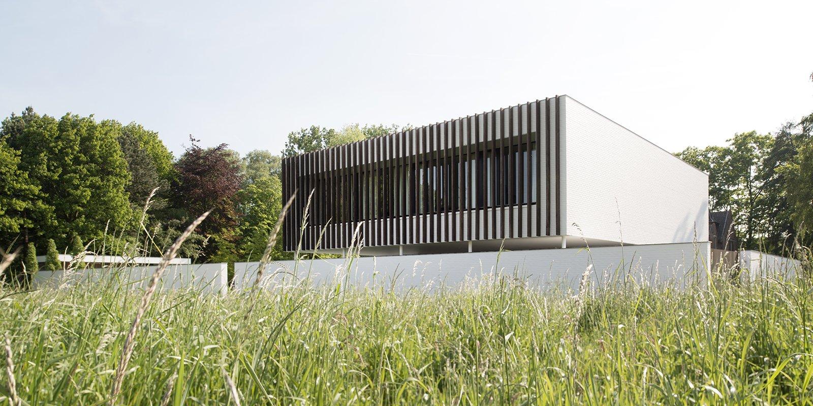 Hedendaagse villa, Steven De Jaeghere, Moderne villa, Exterieur, Tuinontwerp