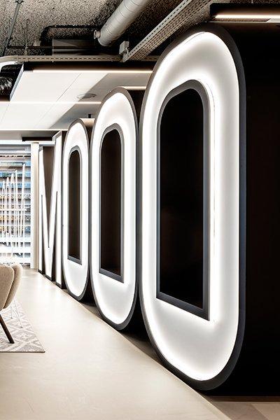 Lineaire verlichting Orbit Lighting, modern design, Led verlichting, structuur