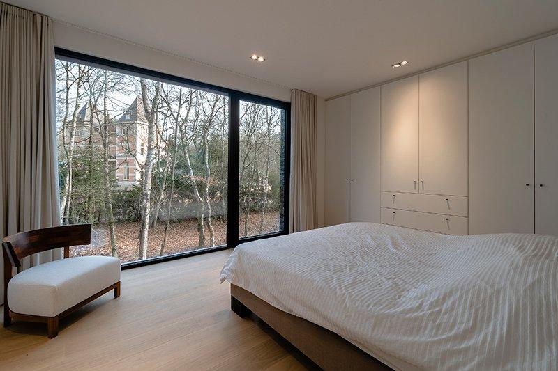 Sfeervol wonen in de natuur, KOON Architectuur, Toon Mennes, slaapkamer, open karakter