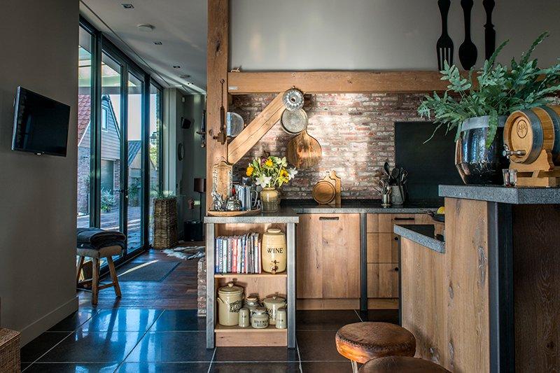 Stoere keuken, Dauby, Dauby deurbeslag, industrieel, robuust, hout, staal