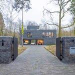 Sfeervol wonen in de natuur, KOON Architectuur, Toon Mennes, oprit, modern huis