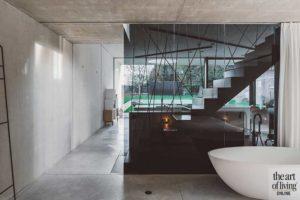 Interieur met beton, ICOON.BE, hedendaags, bouwmateriaal, puur, verfijnd, architectuur