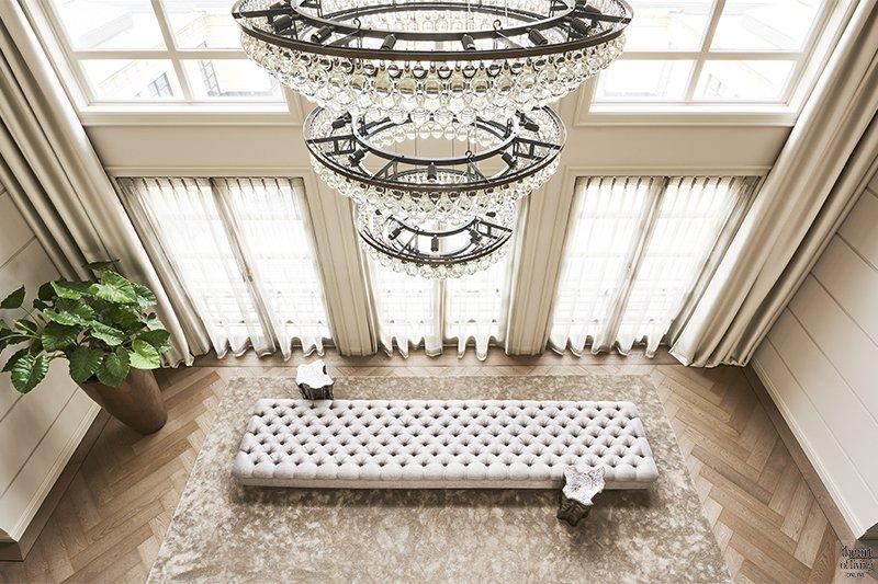 Metropolitan interieur, Eric Kuster, Interieur, Kroonluchter, High-end interieur, Exclusief Interieur, Woonkamer, Keuken, Maatwerk interieur, Luxe interieur