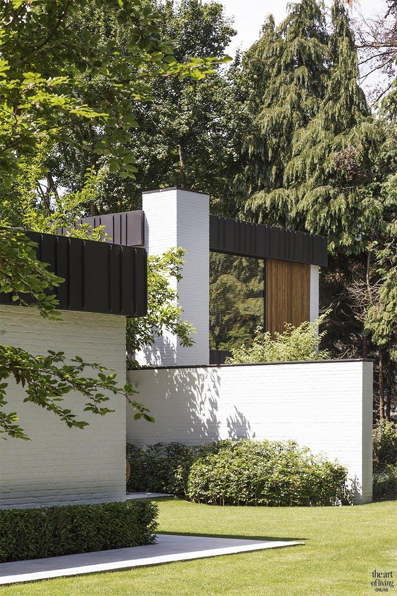 Villabouw, modern, JUMA Architects, strak, L-vorm, raampartijen