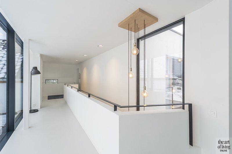 wit interieur, Herve Vanden Haute, Hervé Vanden Haute Architecte, strak, gelijkvloers,