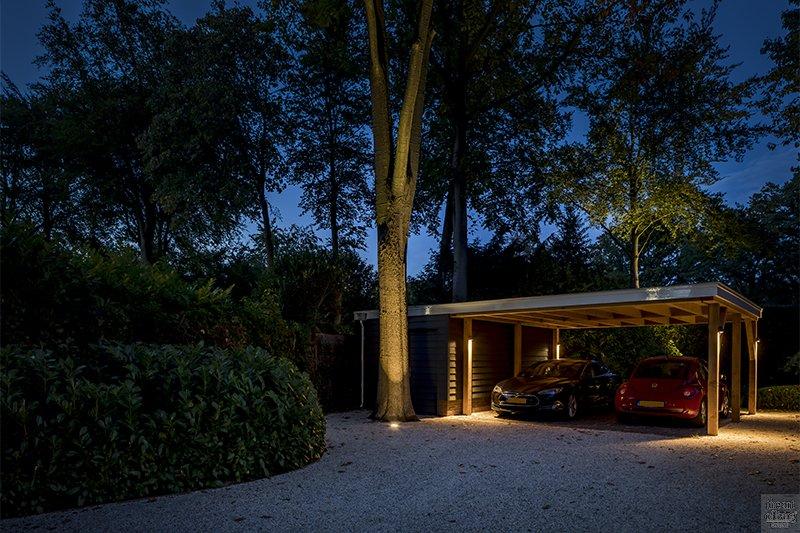 Verlichting in de tuin, Rainforest Lighting, luxe verlichting in tuin