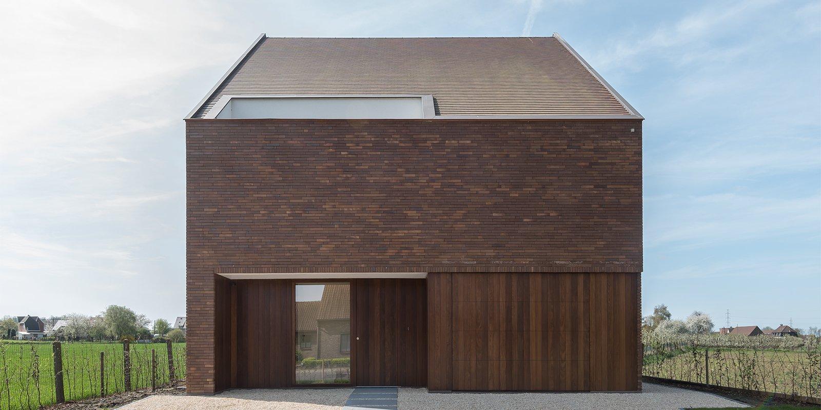 Moderne architectuur, Hofmans Architecten, aardse tonen, modern