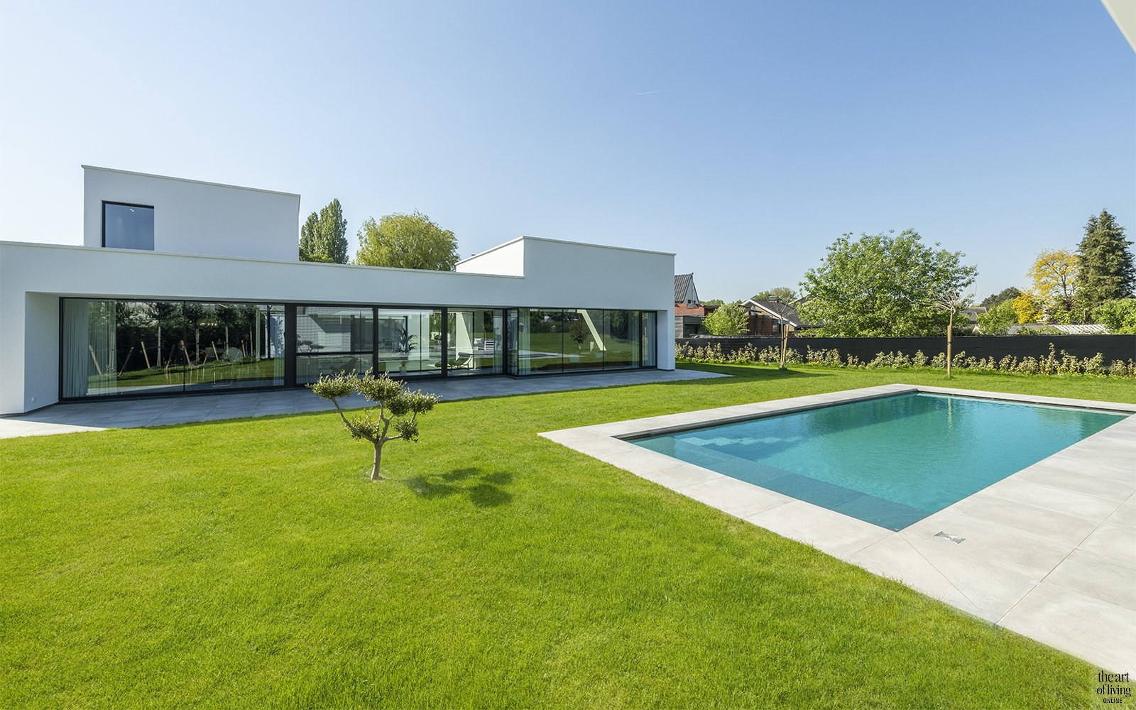 Moderne woning, Steven De Jaeghere. the art of living
