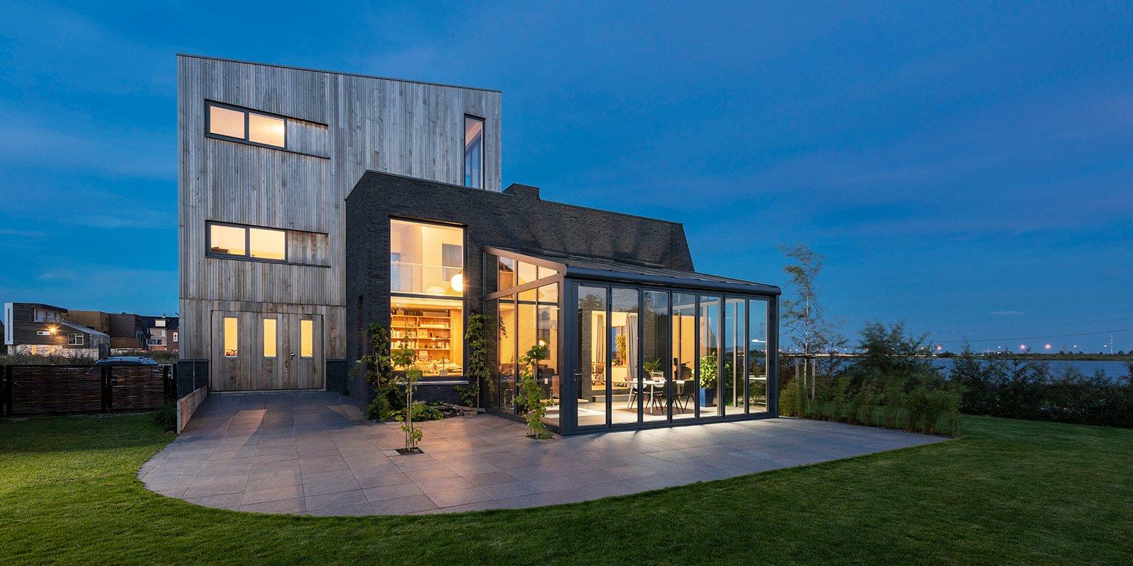 Glazen serre, Solarlux, veel daglicht, energiezuinige bouwwijze, serre,