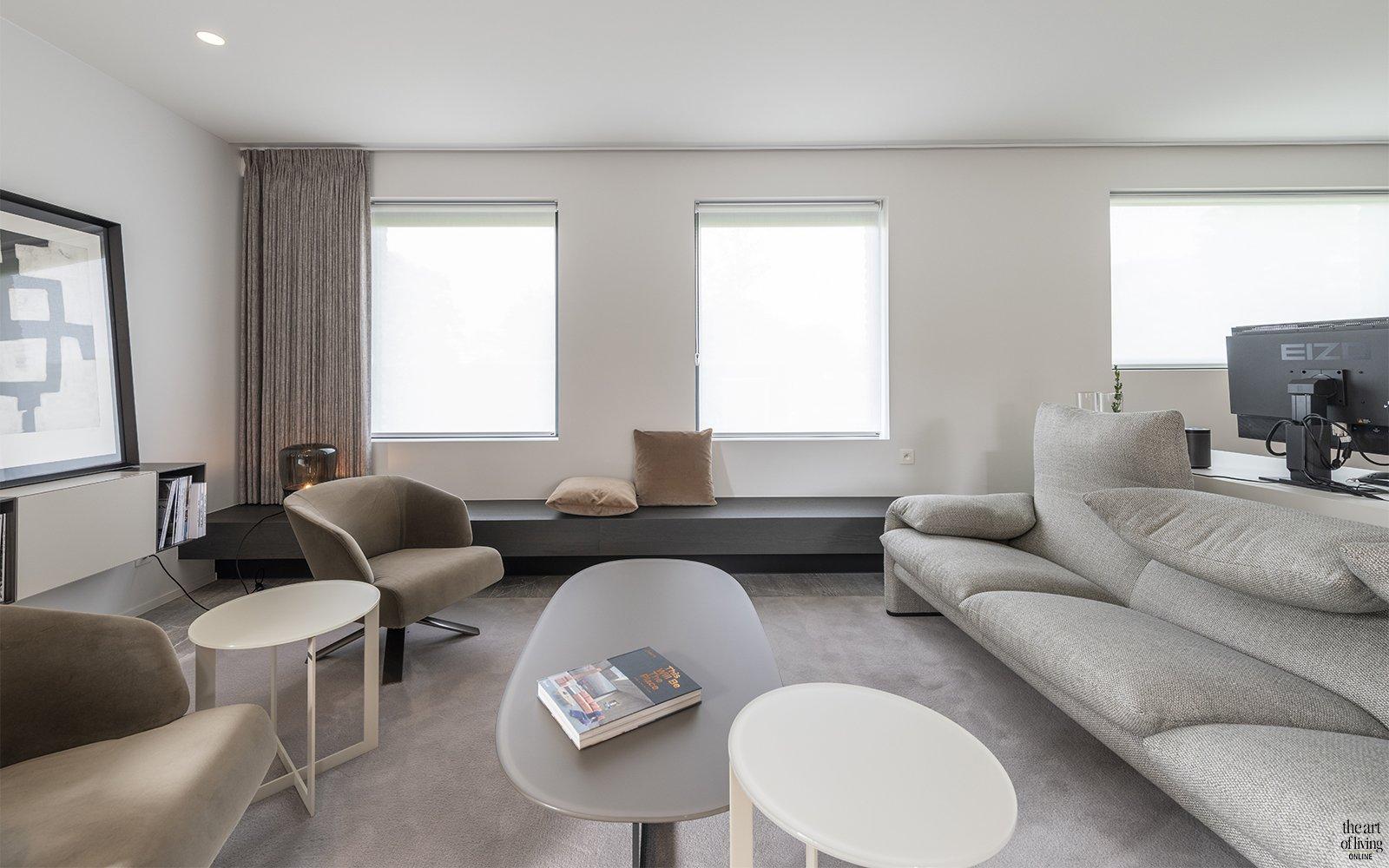 keuken van marmer, vijf interieurarchitectuur, the art of living, marmer