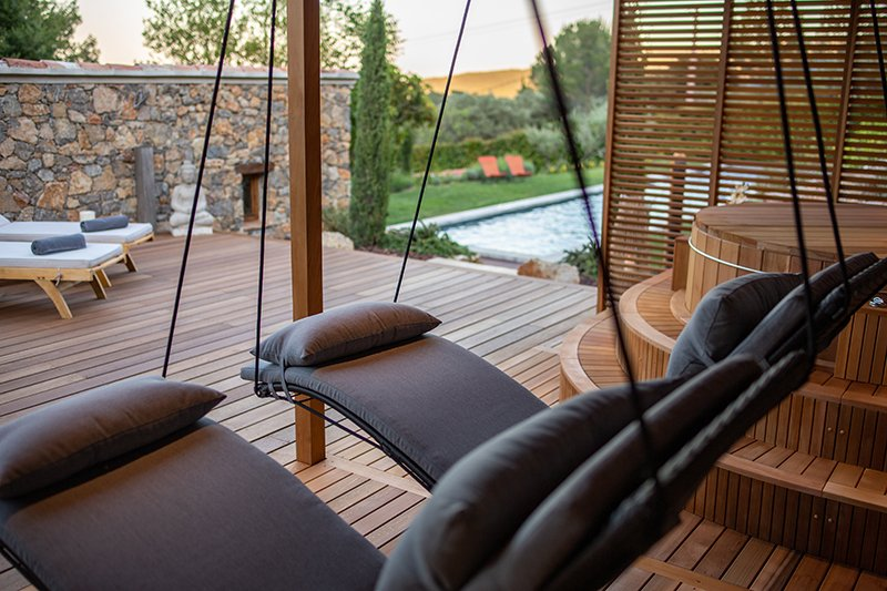 Poolhouse met wellness, Wellness, Sauna, Zwembad, Alpha Industries