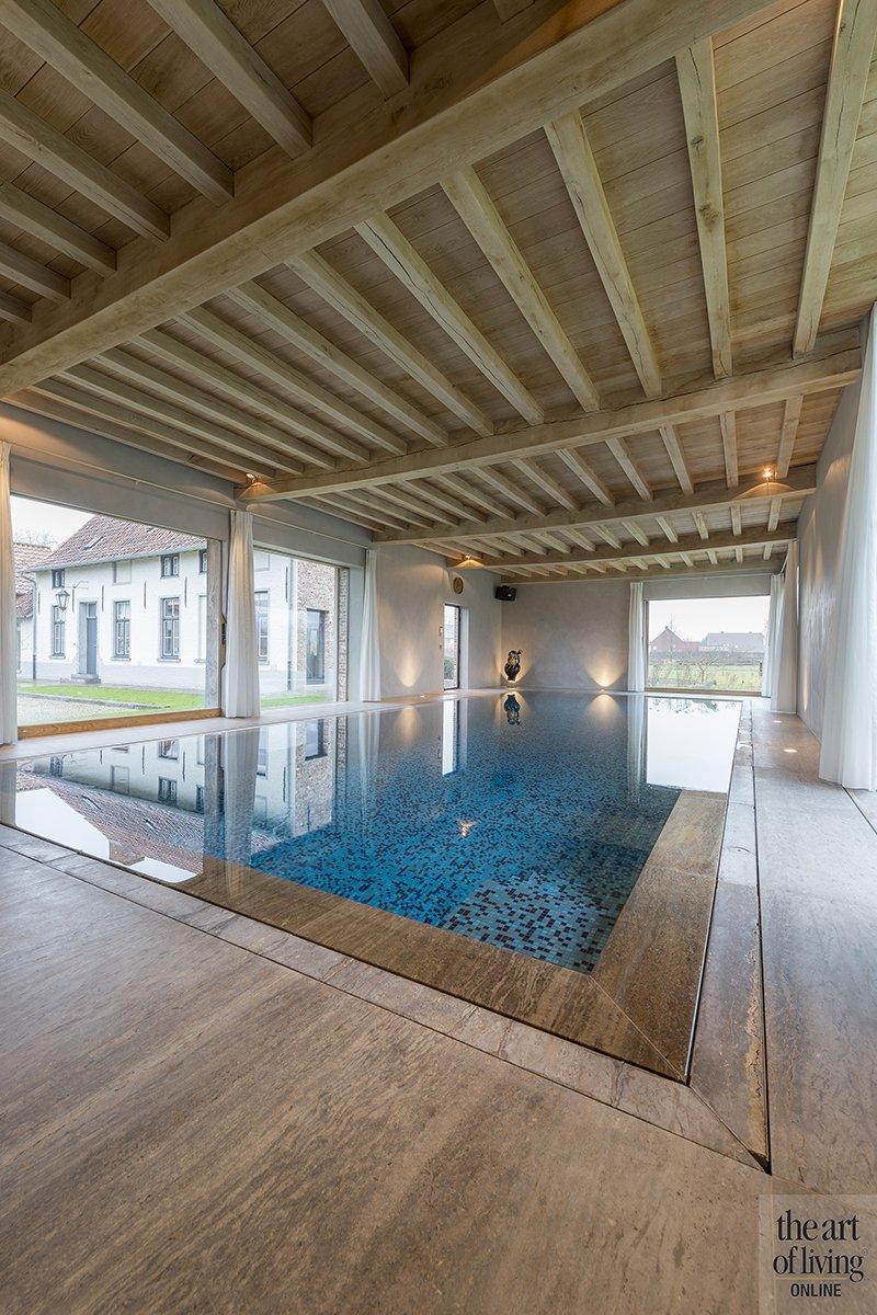 Binnenzwembad, Villa, Zwembad, Inspiratie